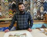 Roman Deppe, Inhaber der Kunsthandlung Fargel
