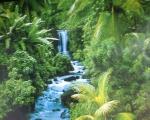 """Poster """"Wasserfall"""".jpg"""