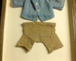 Teddybär-Anzug gerahmt