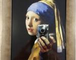 """banksy """"Vermeer selfie"""".jpg"""